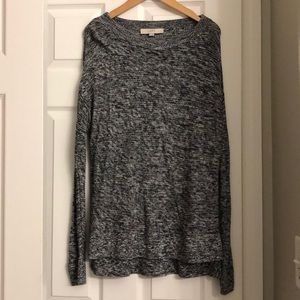 Light weight speckled sweater